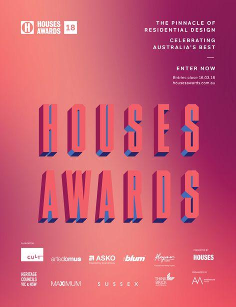 Houses Awards 2018