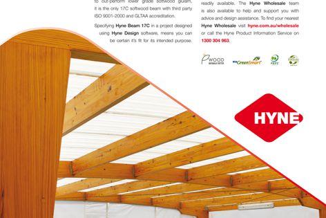 Hyne's GLTAA-accredited 17C beam