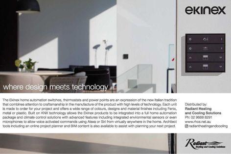 Ekinex home automation products