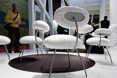 Scenes from the Milan Furniture Fair 2011.