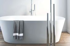 Truego Vertical towel rail from DCS