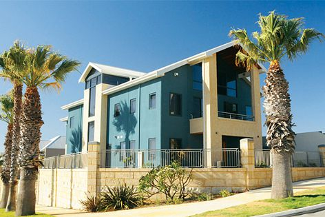 This Perth house uses Reid Construction Systems' Nirvana insulated panel system.