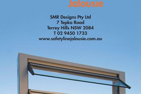 Safetyline Jalousie glass louvres