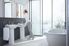 Darling bathroom accessories by Duravit