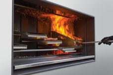 EK Series Outdoor Fireplace Kitchen by Escea