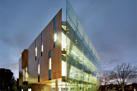 Prodema's natural wood products were used on the Surry Hills Library and Community Centre by FJMT.