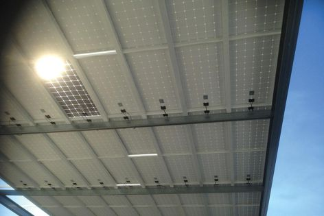 The new solar integrated roof is designed for commercial, recreational and industrial applications.