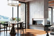 A fireplace with unsurpassed ambiance