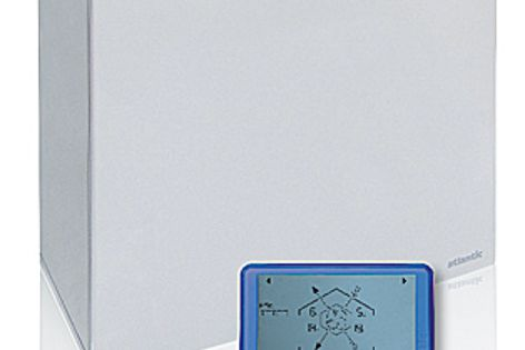 The Duolix Max is a dual-flow system incorporating a high-performance heat exchanger.