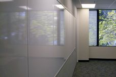 Work surfaces for operable walls