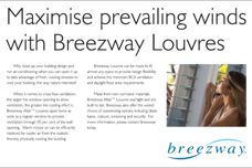 Breezway Altair louvres