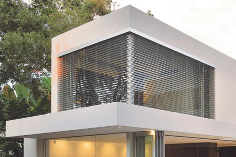 All shading systems can be custom programmed and controlled via a wi-fi motor controller with a smart device control app option.
