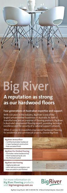 Hardwood flooring from Big River
