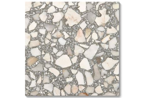 Idol terrazzo tiles from Fibonacci Stone are ideal for both residential and commercial flooring applications.