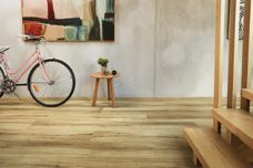 Natural Oak flooring by Heartridge