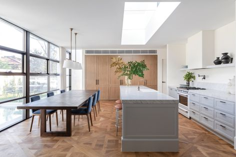 Available in easy-to-install panels, Versailles timber flooring is suitable for residential applications.