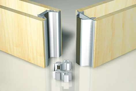 Variflex walls feature a full-length magnetic strip to ensure operable wall panels meet correctly.