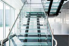 Anti-slip glass flooring from Glassworks