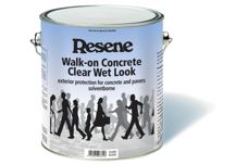 Walk-on Concrete Clear from Resene