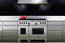 Redesigned Wolf Dual Fuel oven range