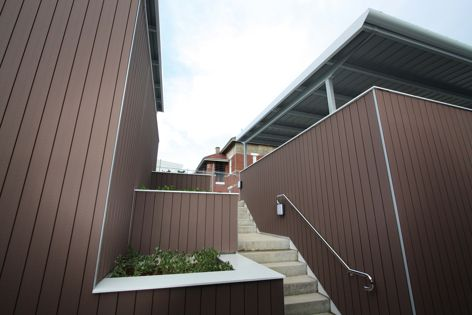 Architectural cladding by Futurewood