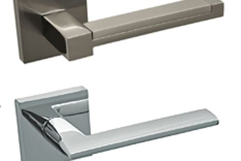 The Valhalla range of square rose door handles are guaranteed not to move over time.