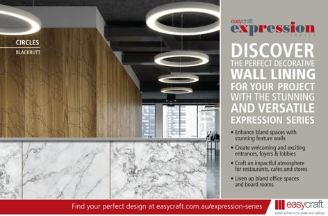 Expression Series wall lining by Easycraft