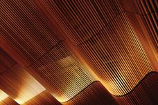 Curved ceiling modules by Screenwood