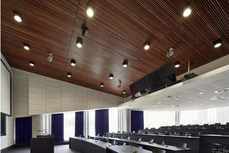 Screenwood acoustic panels at Flinders University