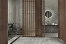 Spazio partition wall by Rimadesio