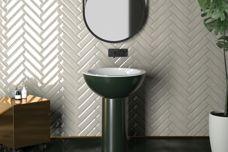 Vintage ceramic tiles by Johnson Tiles