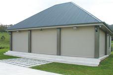 Maxiblock insulating roller shutters