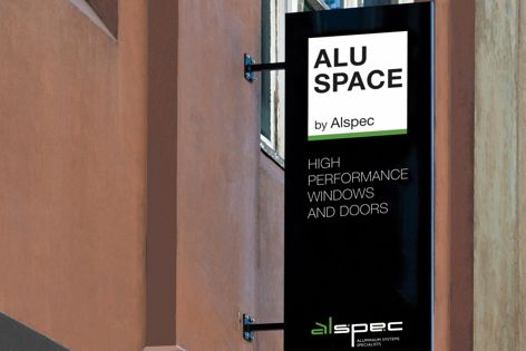 Alu Space, located in Surry Hills, Sydney, is a showroom for Alspec's state-of-the-art aluminium window and door systems.