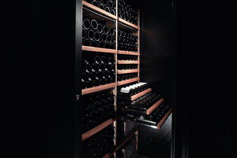Walk-in wine cellars by Vintec