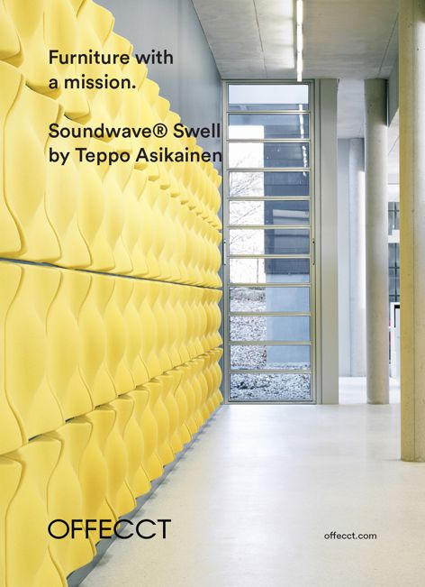 Soundwave Swell panels by Offecct