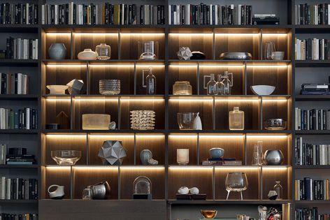 Wall System by Poliform