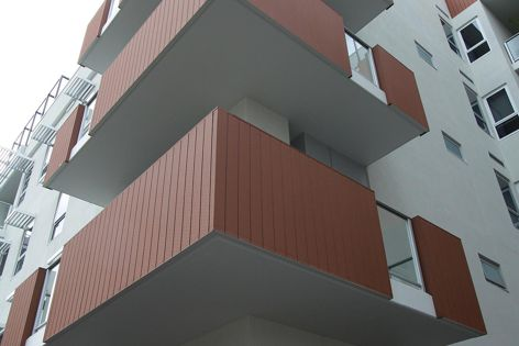 Low-maintenance composite cladding by Futurewood was recently used at Adelaide's Ergo Apartments by Hames Sharley.