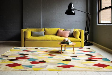 Asher, part of the Kaleidoscope Collection from Designer Rugs.