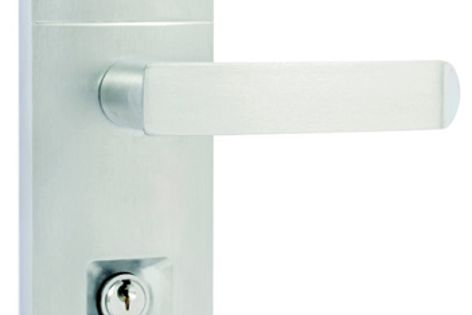 Gainsborough Eclipse lock with Allure handle.