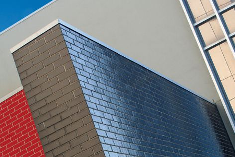 The glazed Burlesque brick is part of Austral Bricks' latest collection.
