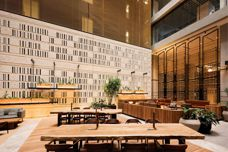 Architec Honed blocks used in T&G building