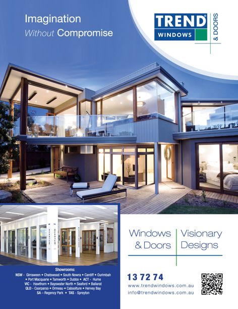 Visionary Designs from Trend Windows & Doors
