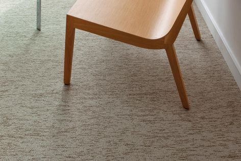 Tandus Powerbond floorcovering is available in a wide range of designs, including Linu Strata.