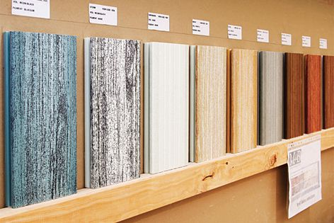 Diamond deck™ is available in a number of finishes and is 100% waterproof.