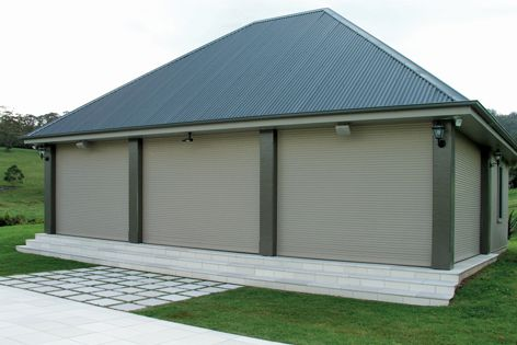 Installing roller shutters on a building can help to protect property from the forces of bushfires.