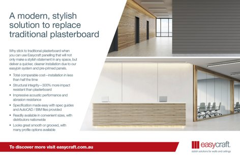Wall and ceiling panelling by Easycraft