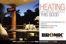 Bromic outdoor heating