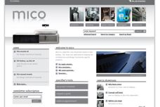 Mico Design website
