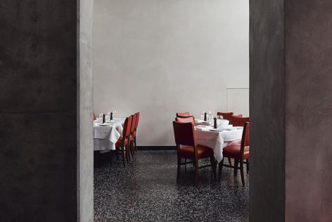 Di Stasio Citta by Hassell, winner Best Resturant Design, 2019 Eat Drink Design Awards. Photograph: Peter Bennetts.