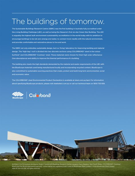 The buildings of tomorrow